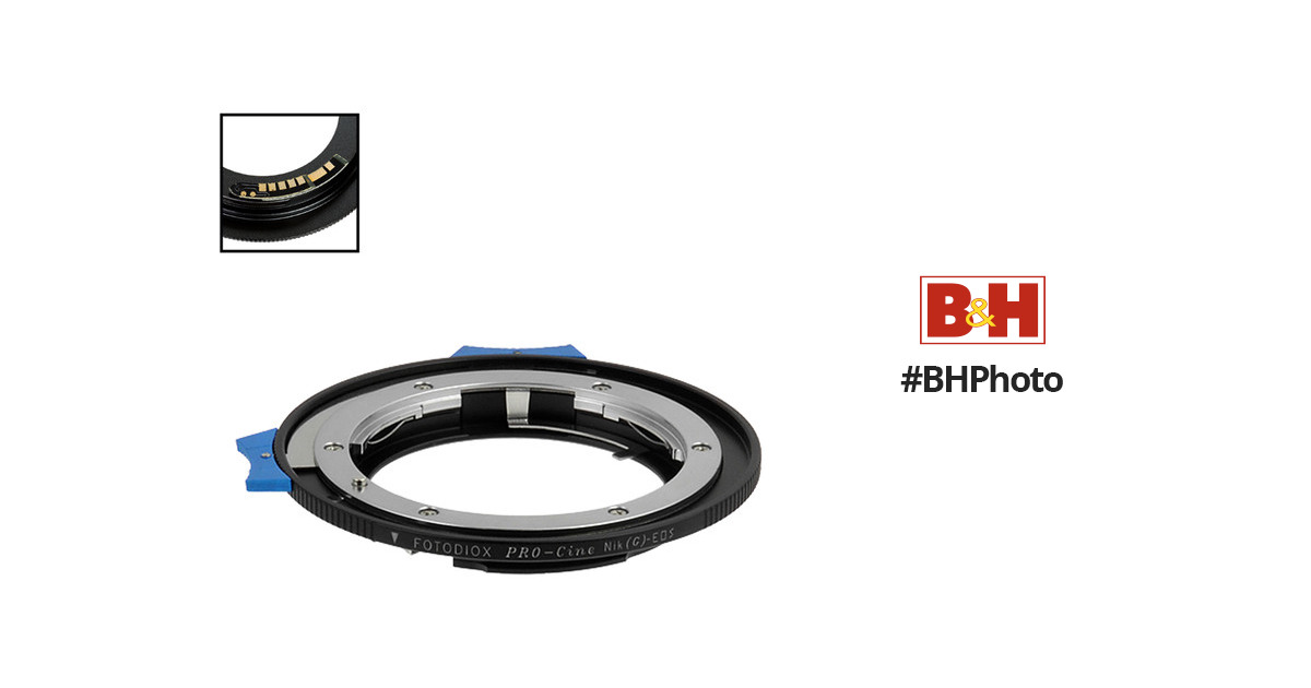 FotodioX Pro Lens Mount Adapter NIKG-EOS-PRO-FC10 B&H Photo