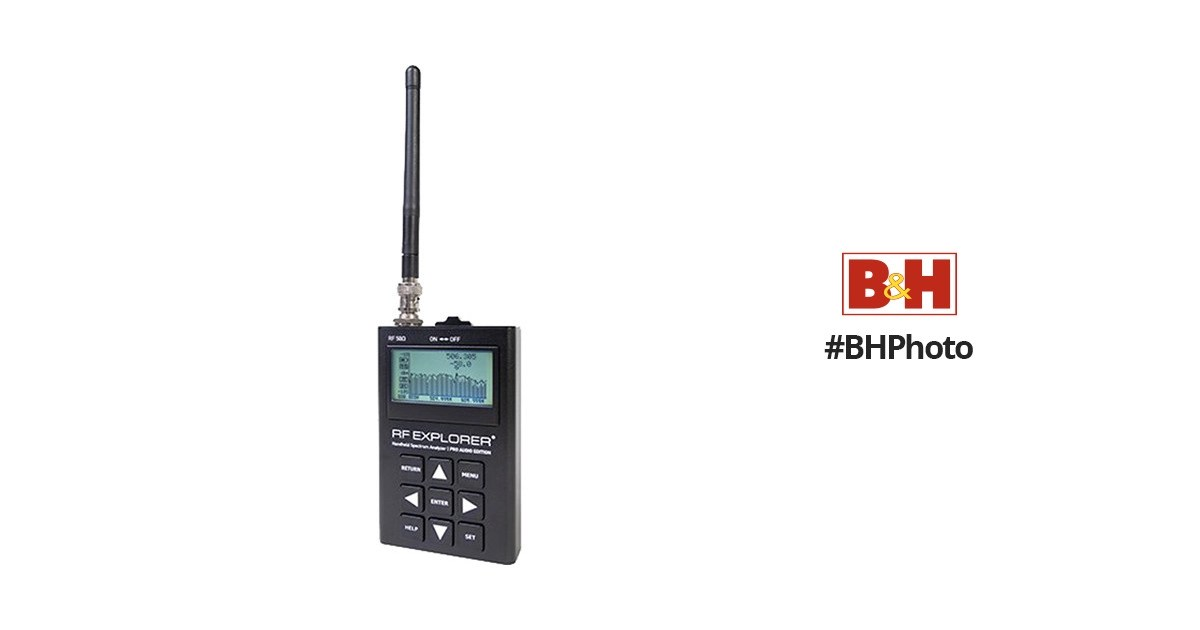 RF Venue RF Explorer Pro Audio Edition Handheld RF RFEXP