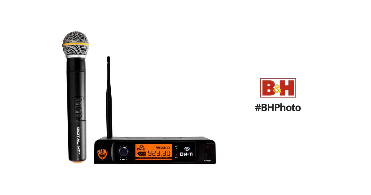 Nady DW-11 HT Digital Wireless Microphone System DW-11 HT B&H