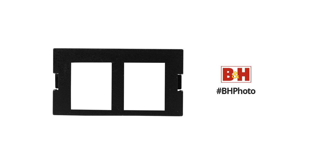 FSR Replacement Hubbell 1U 2 Keystone Insert (Black) 31007 B&H