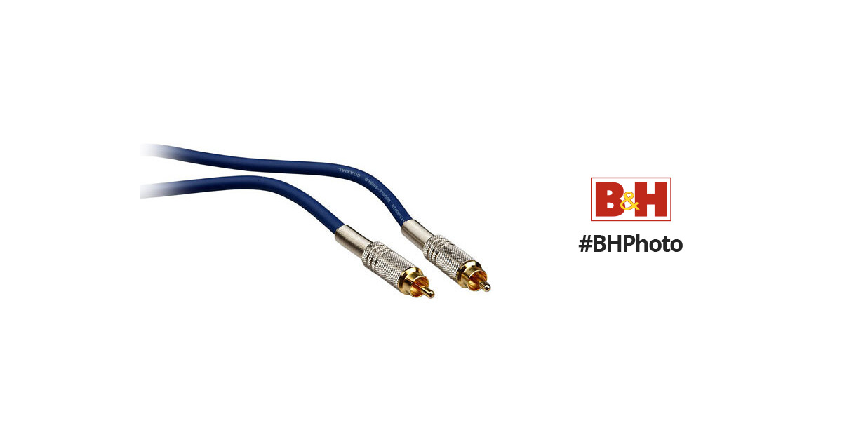 Hosa Technology S/PDIF RCA Male to RCA Male Digital Cable