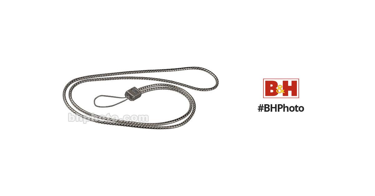 Canon Metal Neck Strap 1 for Elph Cameras 6254A003 B&H Photo