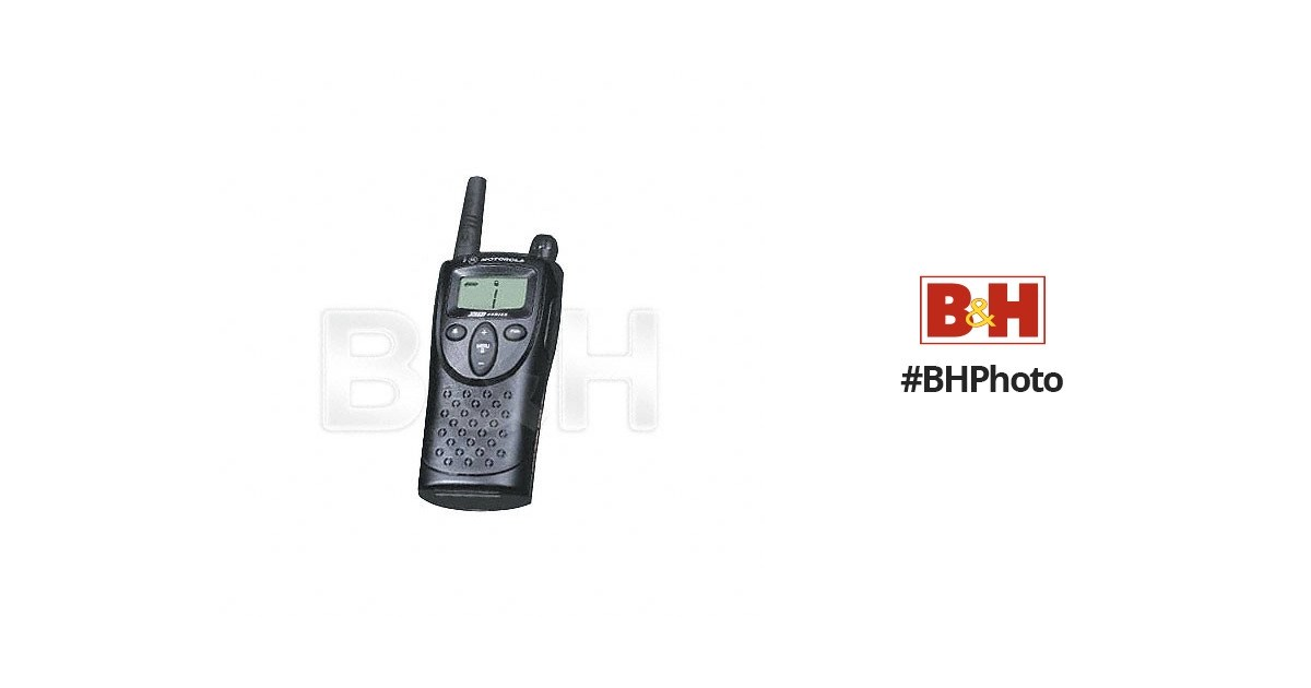 Motorola XTN Series XV-1100 2 Way Radio XV1100 B&H Photo Video