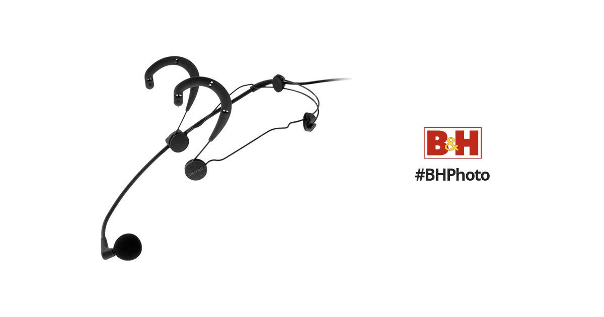 Shure WBH54B Beta 54 Headworn Vocal Microphone (Black) WBH54B
