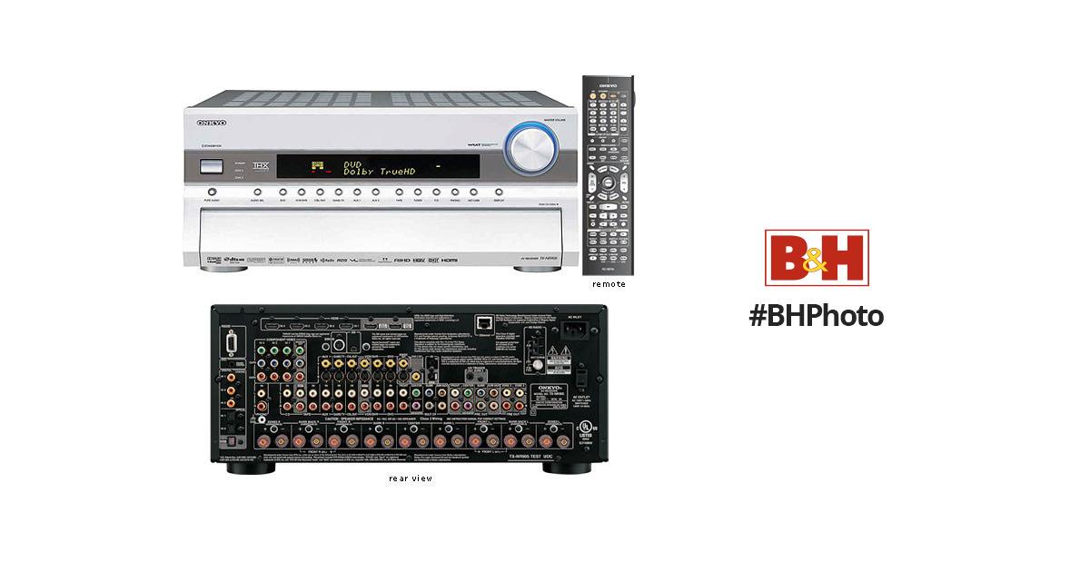 Onkyo TX-NR905 Home Theater Receiver (Silver) TX-NR905S B&H