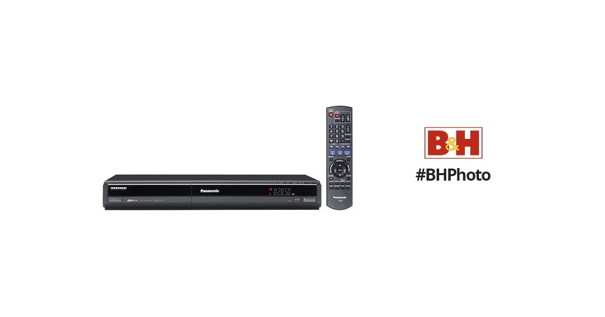 Panasonic DMR-EZ17 DVD Recorder (Black) DMR-EZ17K B&H Photo