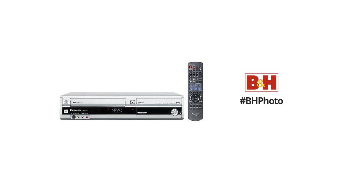 Panasonic DMR-EZ37 DVD/VCR Recorder Combo (Silver) DMR-EZ37VS