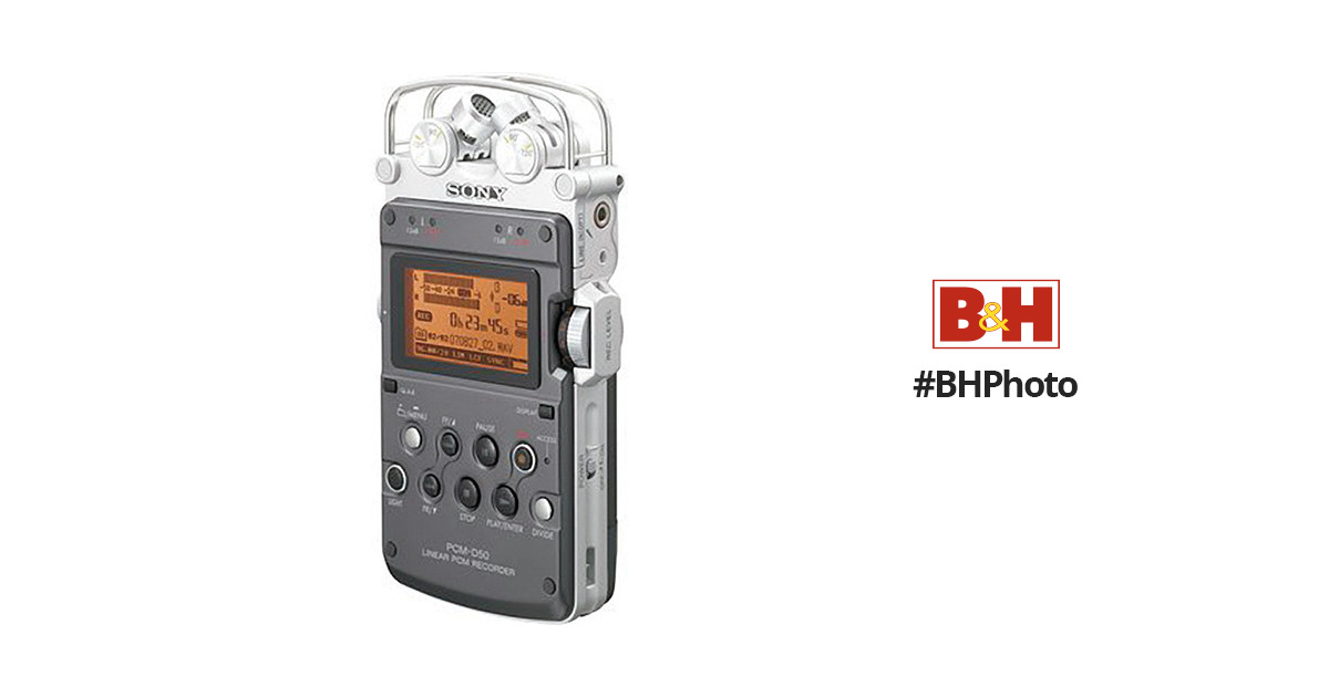 Sony PCM-D50 Professional Portable Stereo Digital Audio