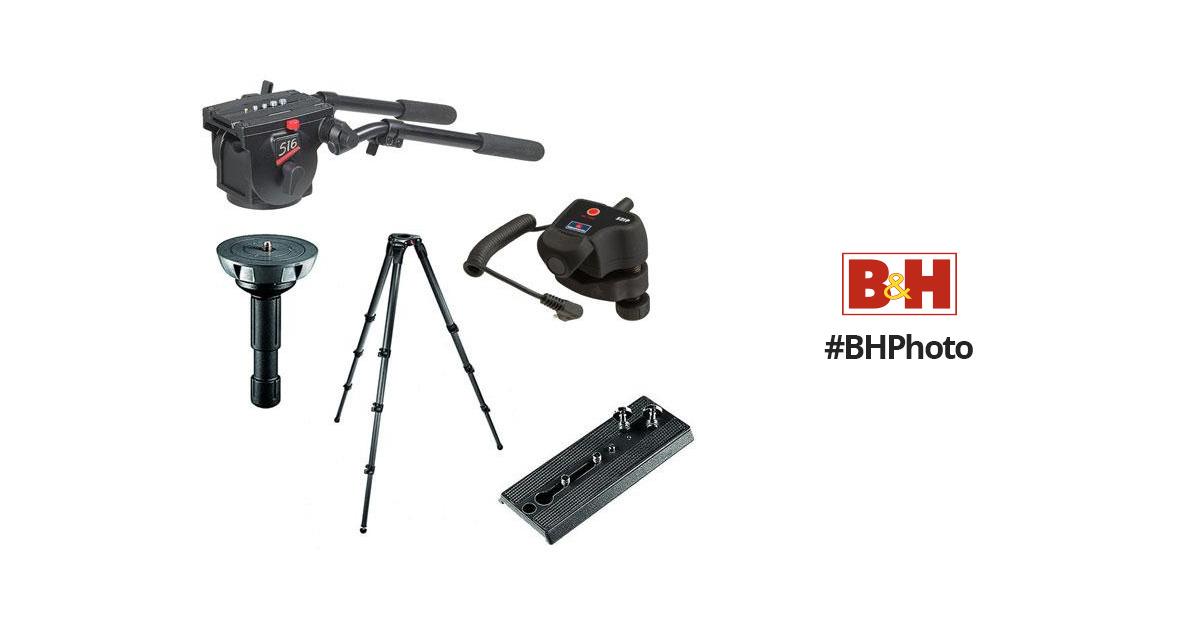 Manfrotto 516 Pro Video Fluid Head Kit (Panasonic) B&H Photo