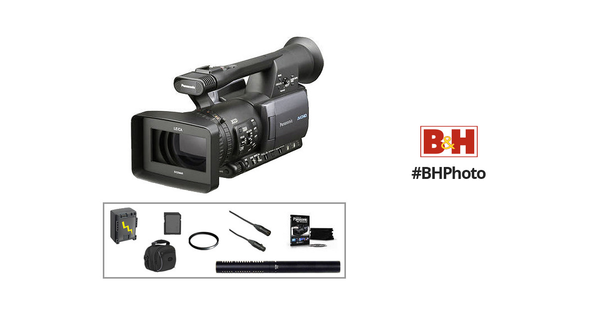 Panasonic AG-HMC150 AVCCAM Camcorder with Basic Accessory Kit