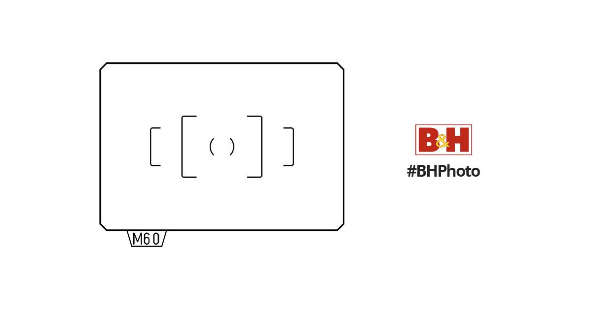 Pentax MF-60 AF Standard Focusing Screen 38578 B&H Photo Video