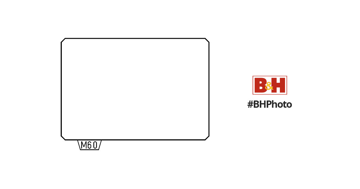 Pentax ME-60 Plain Matte Focusing Screen 38581 B&H Photo Video