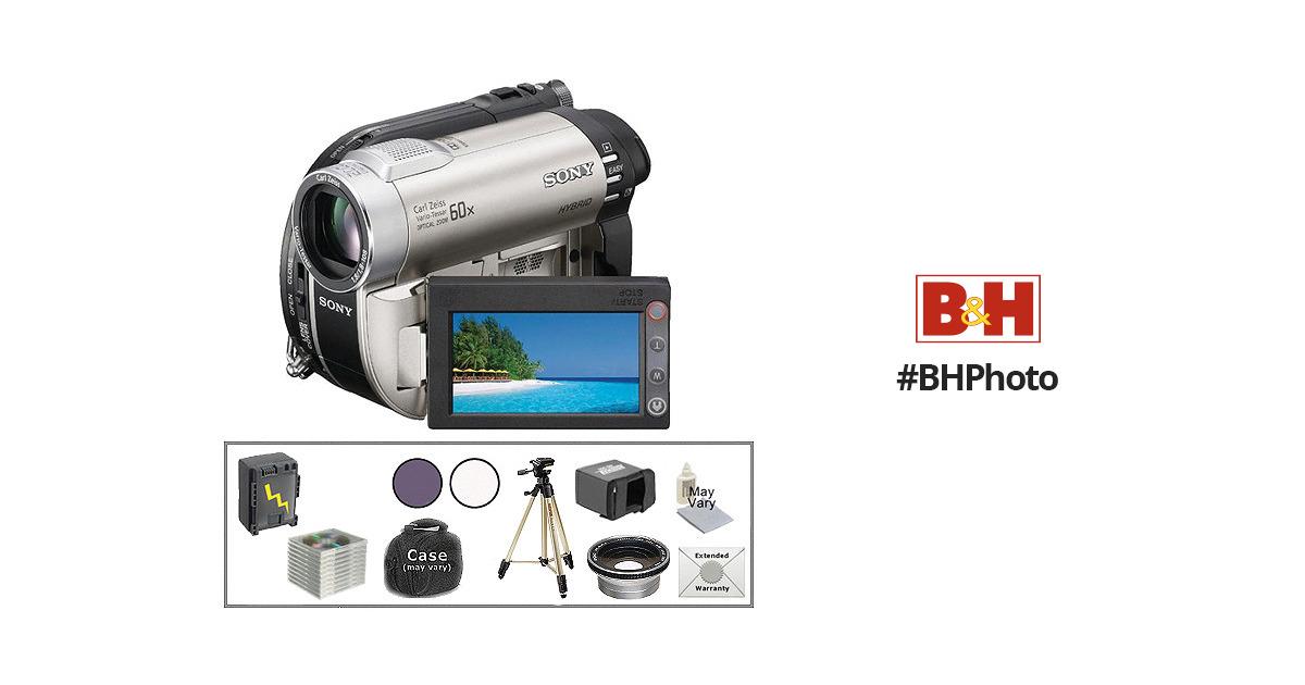 Sony DCR-DVD650 DVD Handycam Camcorder Advanced Kit B&H Photo