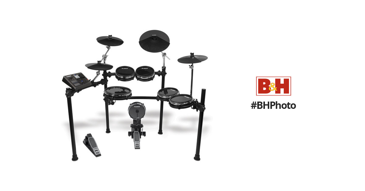 Alesis DM10 Kit Six-Piece Electronic Drum Set DM10 STUDIO KIT