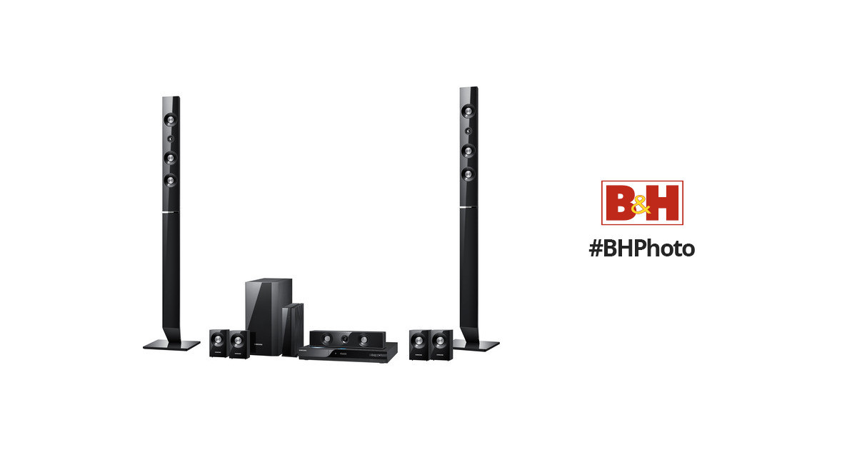 Samsung HT-C6730W Blu-ray Home Theater System HT-C6730W B&H