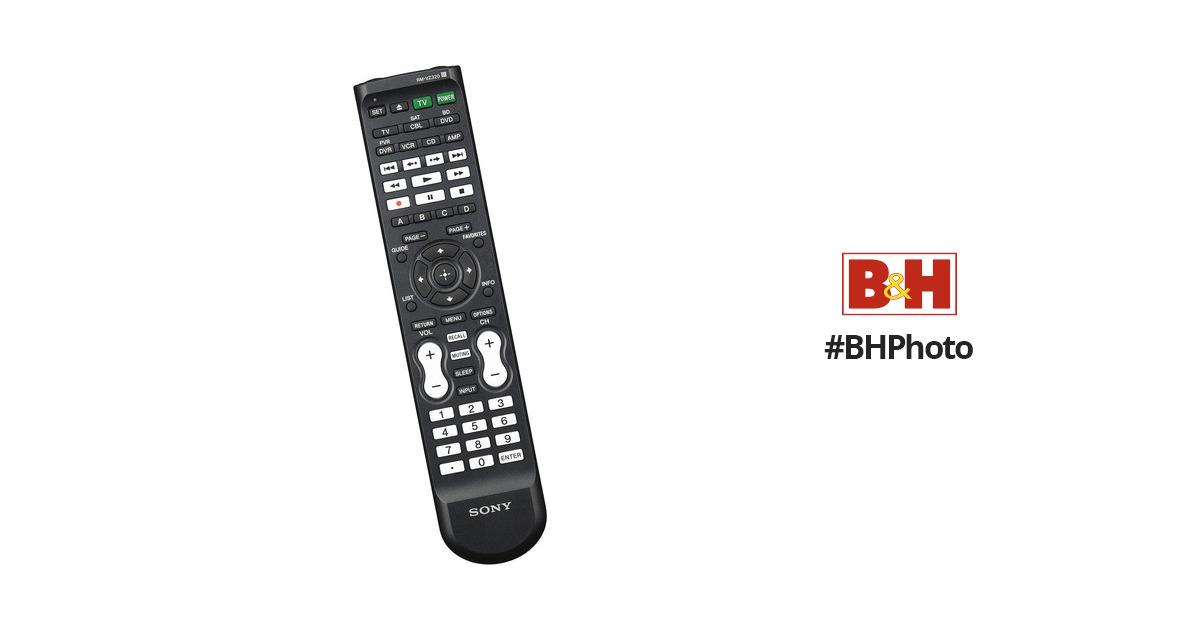 Sony RMVZ320 Remote Control RM-VZ320 B&H Photo Video