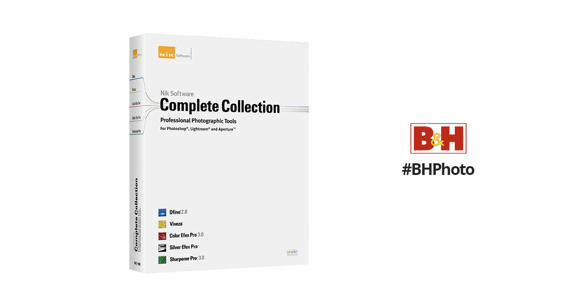 Nik Software Complete Collection Software Plug-in 1090BBA B&H