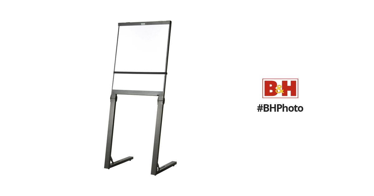 Da-Lite 37128 Designer Easel (Folding, Black/Black) 37128 B&H