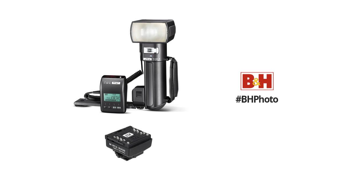 Metz mecablitz 76 MZ-5 digital Flash Kit for Nikon Cameras B&H