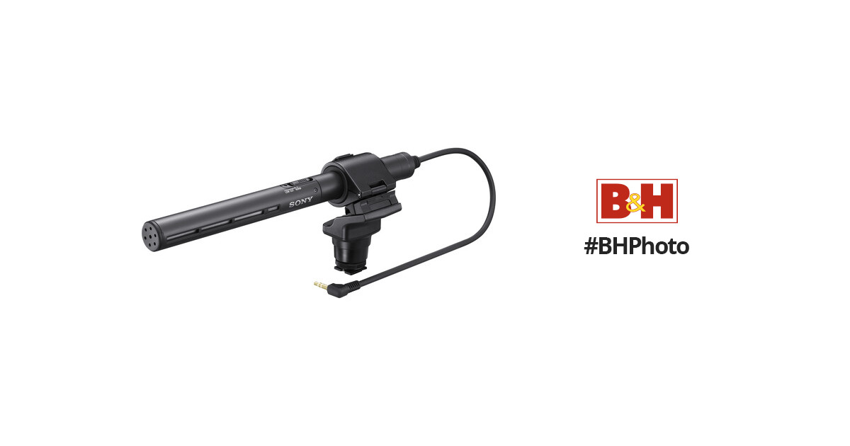 Sony ECM-CG50 Pro Shotgun Microphone ECM-CG50BP B&H Photo