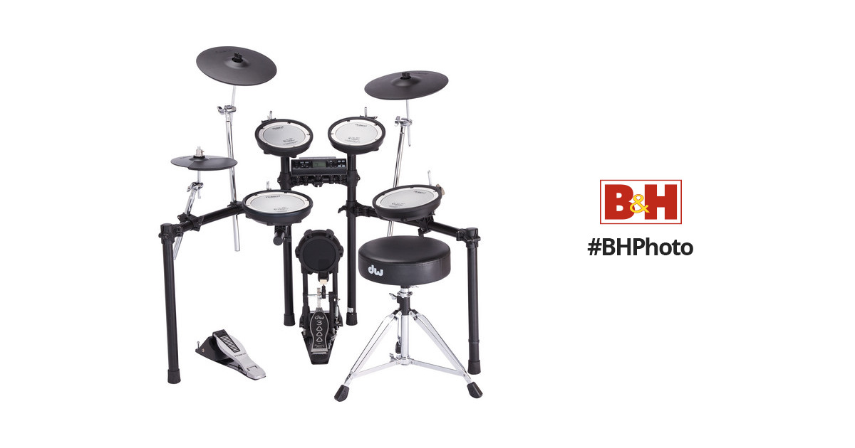 Roland TD-4KX2 V-Compact Series V-Drum Set TD-4KX2-S B&H Photo