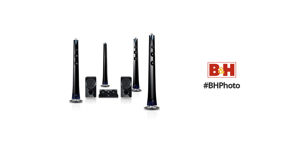 LG LHB996 7.2 Channel Network 3D Blu-ray Home Theater