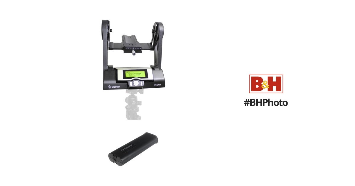 GigaPan EPIC Pro Robotic Camera Mount with Additional Battery