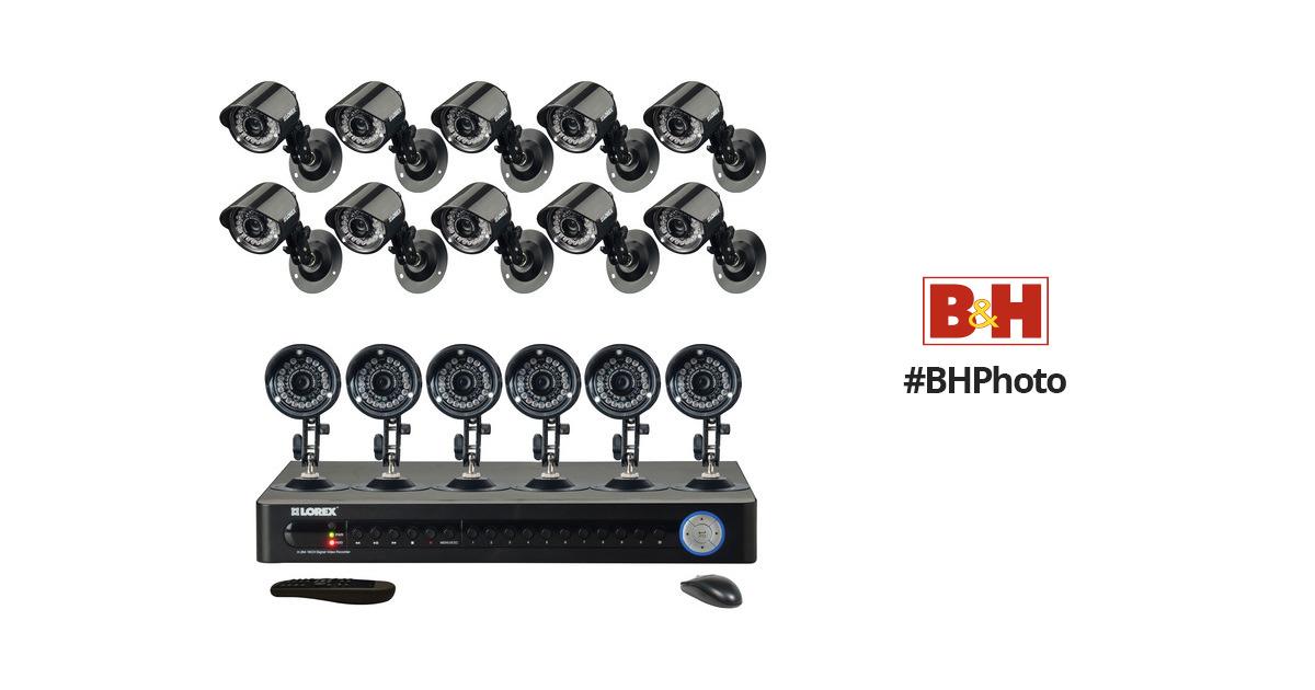 Lorex LH1610 Security Camera System LH1610 B&H Photo Video