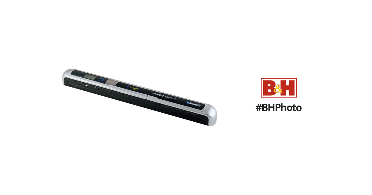 VuPoint Solutions Magic Wand Portable Scanner PDSBT-ST43