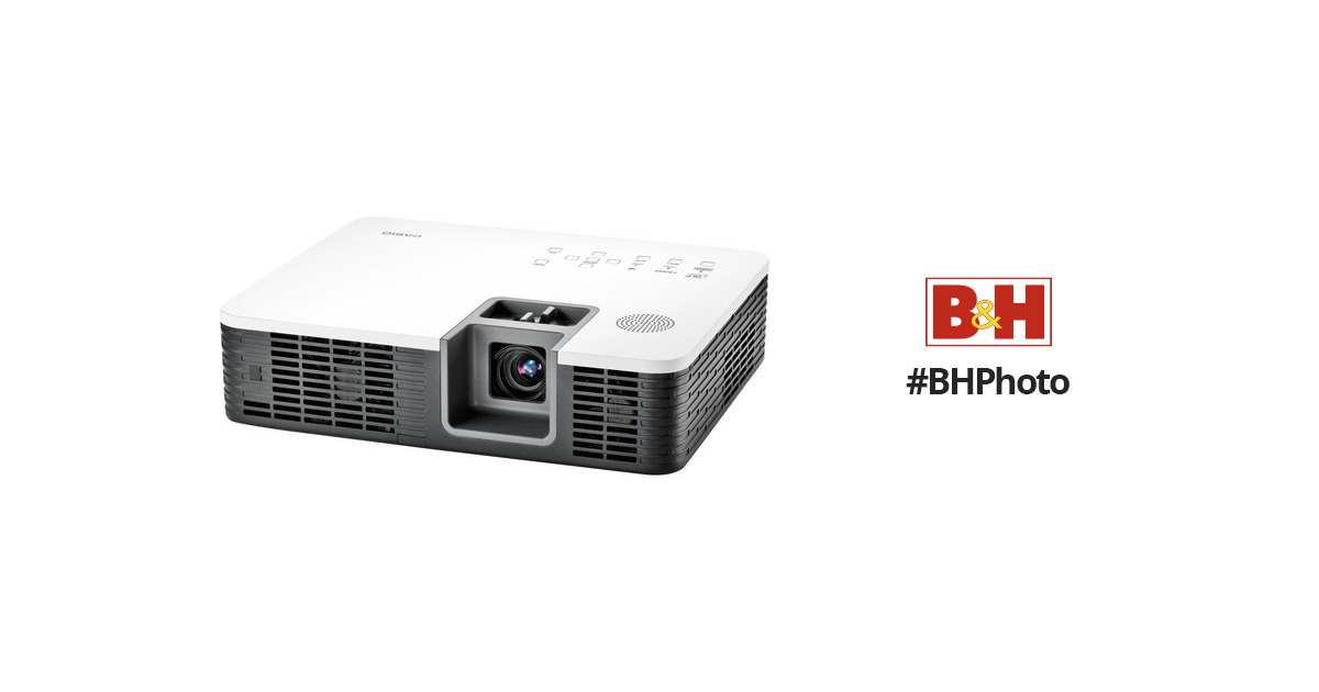 Casio XJ-H1750 3D Pro Model Projector XJ-H1750 B&H Photo Video