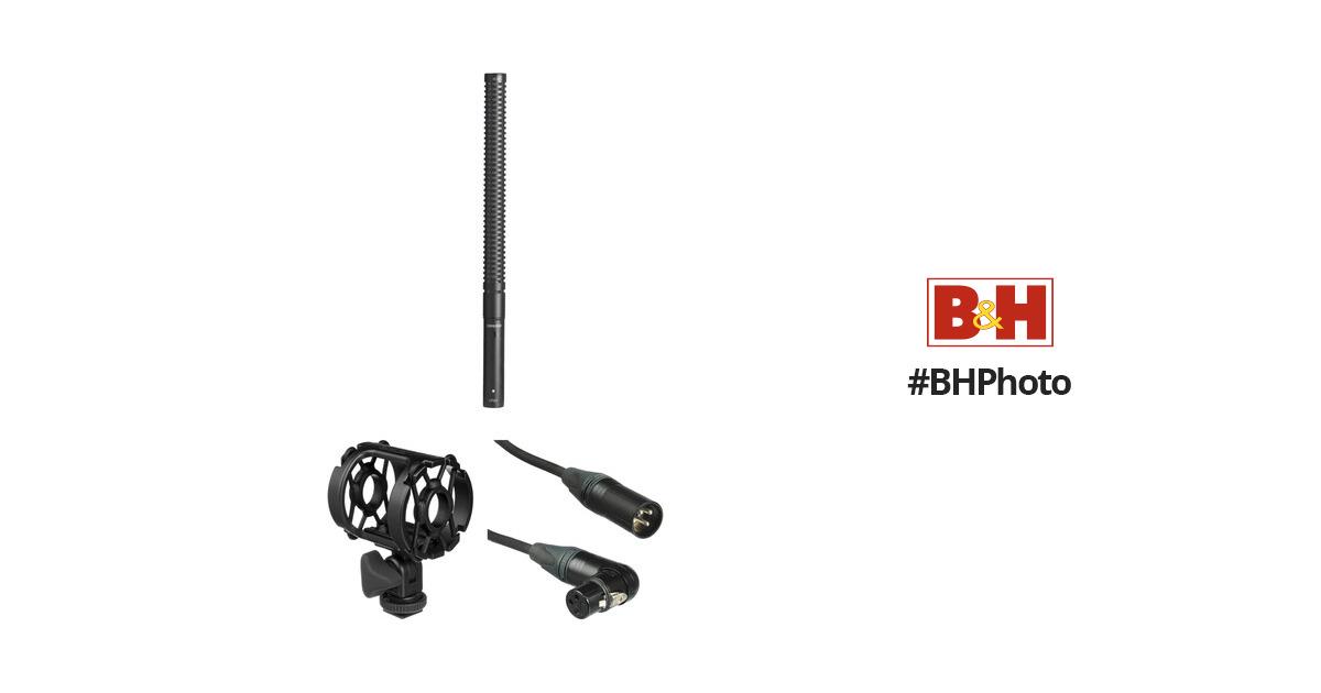 Shure VP89 Medium Shotgun Microphone Shockmount Bundle B&H