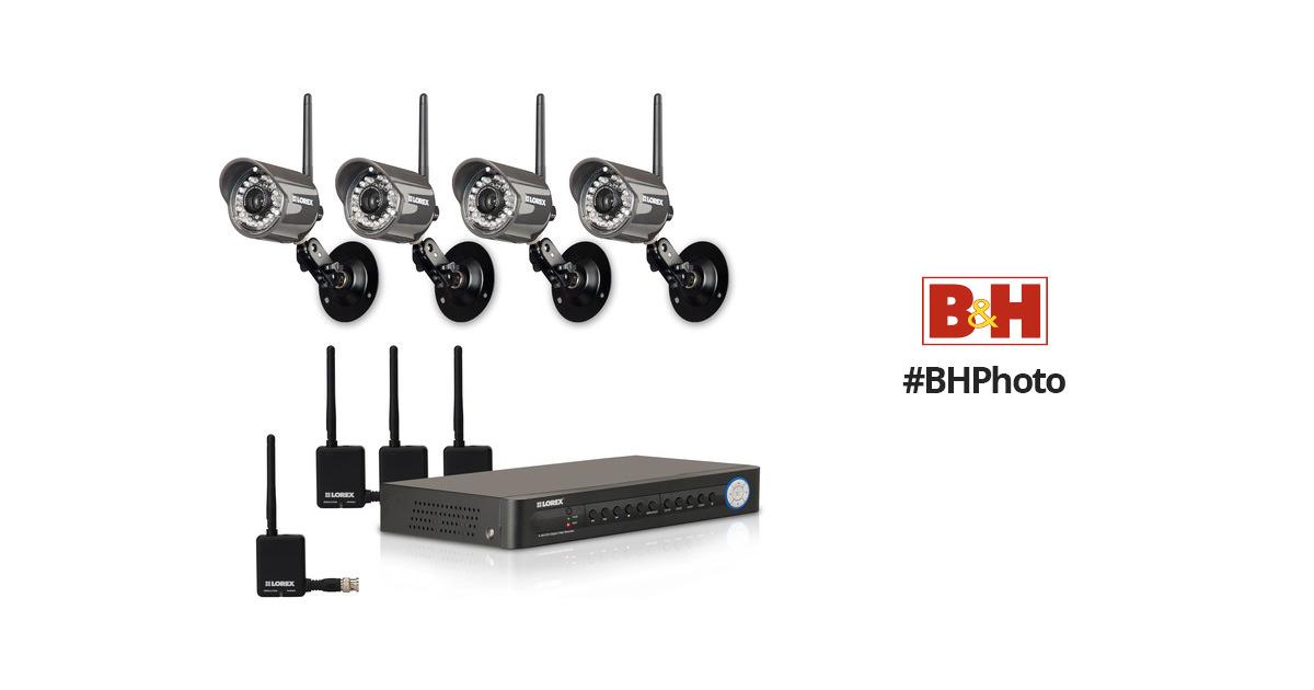 Lorex LH118501C4WB Digital Wireless Security Camera