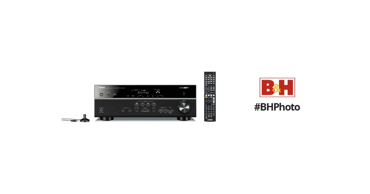 Yamaha RX-V473 A/V Receiver (Black) RX-V473BL B&H Photo Video