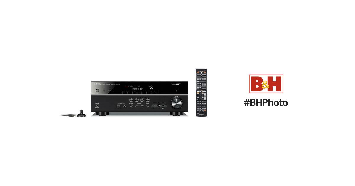 Yamaha RX-V573 A/V Receiver (Black) RX-V573BL B&H Photo Video