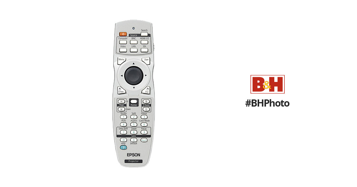 Epson Epson 1558838 Replacement Remote Control 1558838 B&H