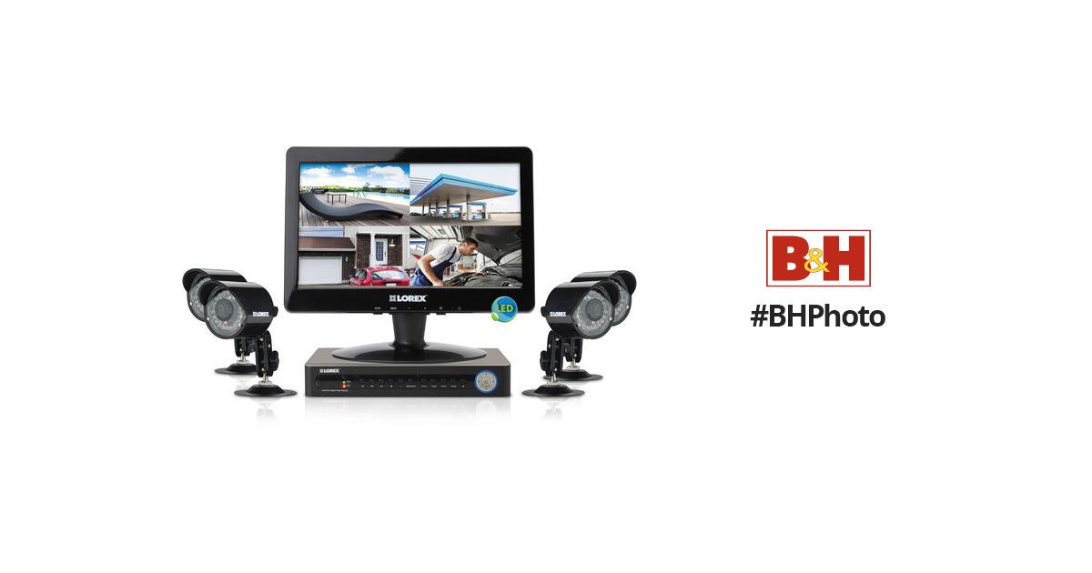 Lorex LH118511C4L13F Security Camera System LH118511C4L13F B&H