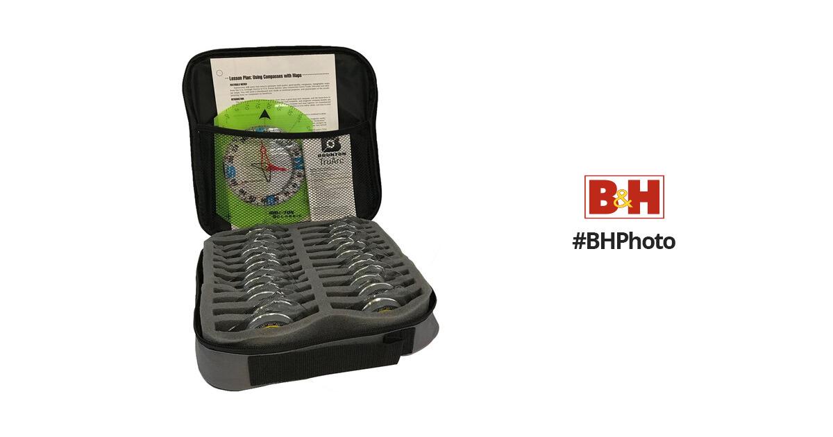 Brunton 9020G 24-Piece Instructor's Compass Set F-8900C-24 B&H