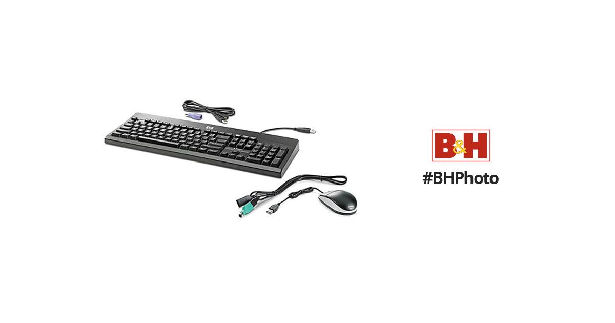 HP USB PS2 Washable Keyboard and Mouse (BU207AT) BU207AT#
