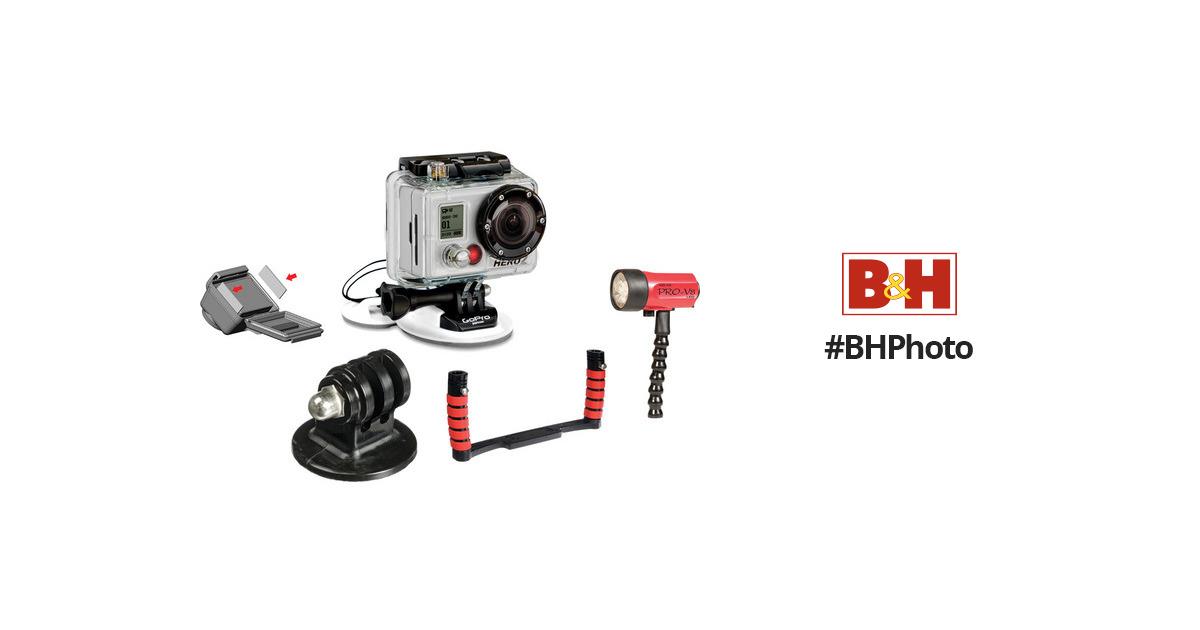 GoPro Go Pro HD HERO2 Underwater Photography Kit B&H Photo