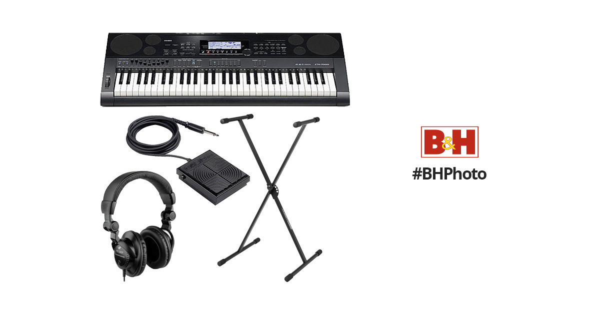Casio CTK-7000 Value Bundle B&H Photo Video