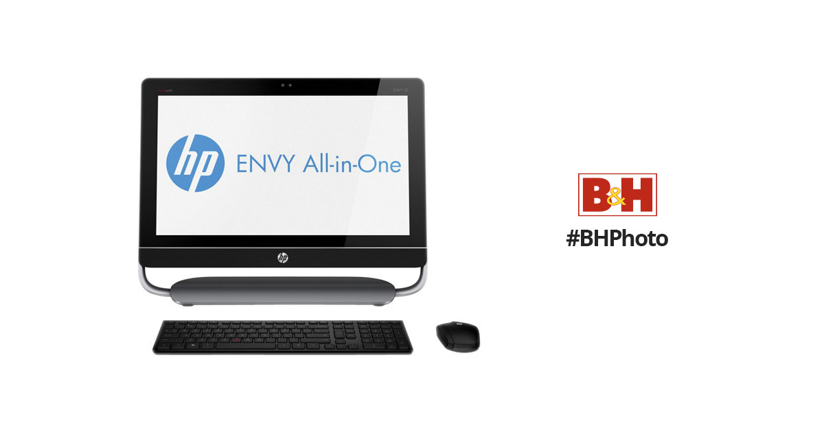 HP HP ENVY 23-c030 All-in-One Desktop PC H3Y93AA#ABA B&H Photo