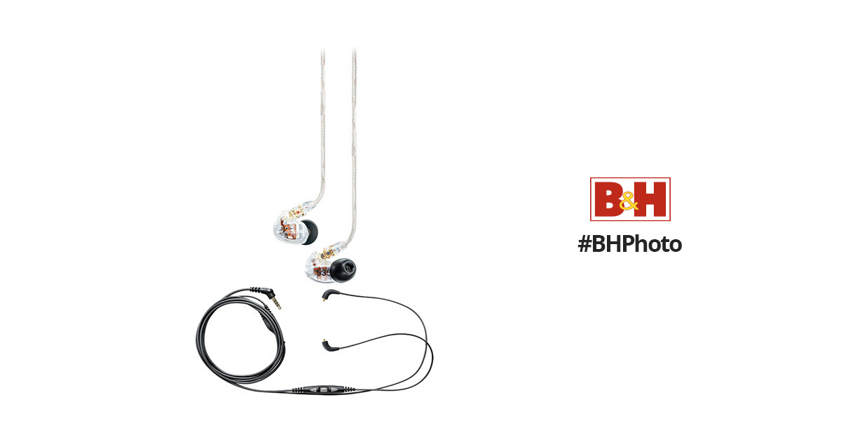 Shure Shure SE535 Sound-Isolating In-Ear Earphones and In-Line