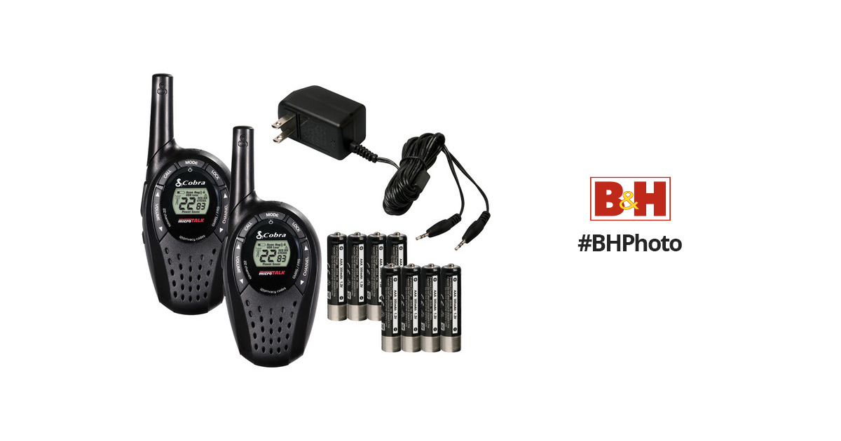 Cobra MicroTalk CXT235 20-Mile Two-Way Radio CXT235 B&H Photo