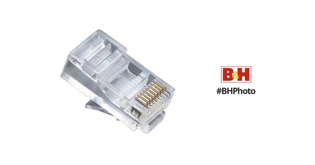 Platinum Tools CAT5e RJ45-8P8C Modular Connector 106153J B&H