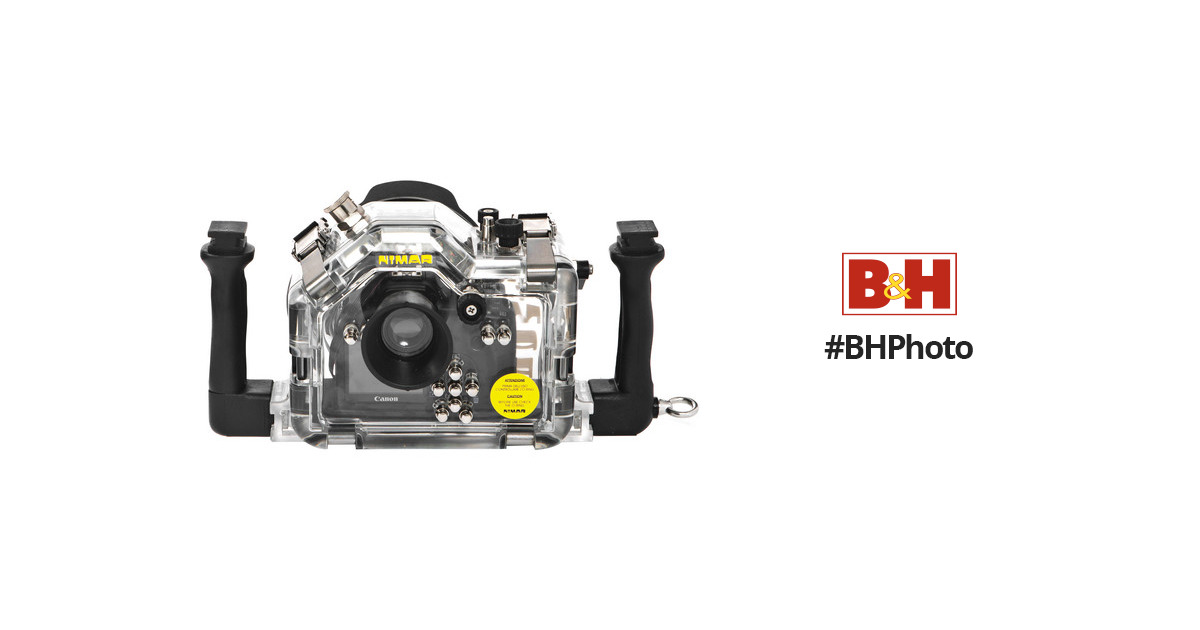 Nimar Underwater Housing for Canon EOS Rebel XS/1000D