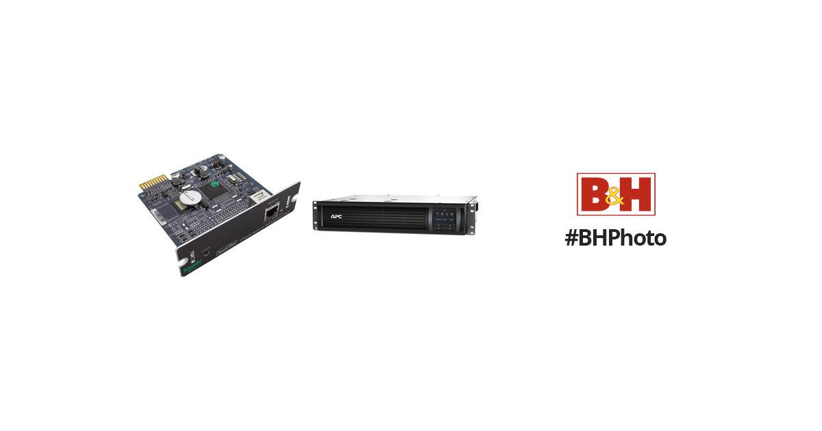 APC Smart-UPS 750VA Rackmount 2U Kit with UPS SMT750R2-NMC B&H