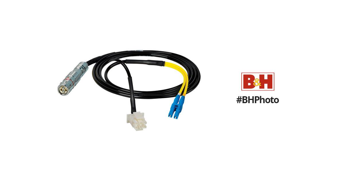 Camplex 25' Lemo FUW to Duplex LC Fiber/6-Pin HF-FUWLC3-BO-025