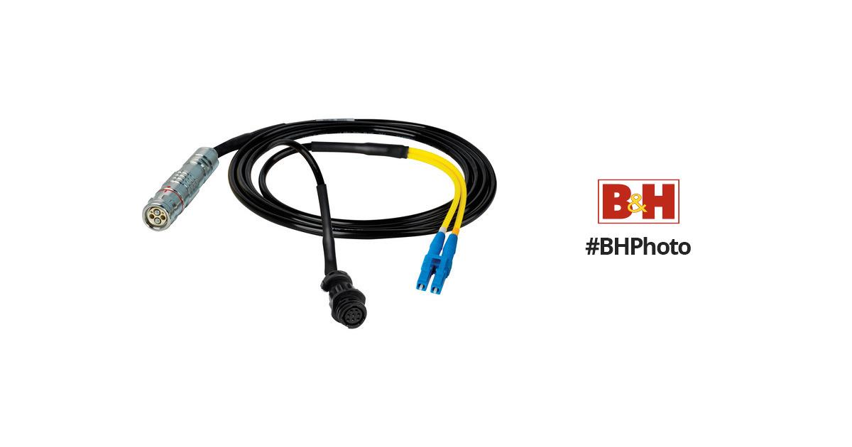 Camplex 15' Lemo FUW to Duplex LC Fiber & HF-FUWLC6-BO-015