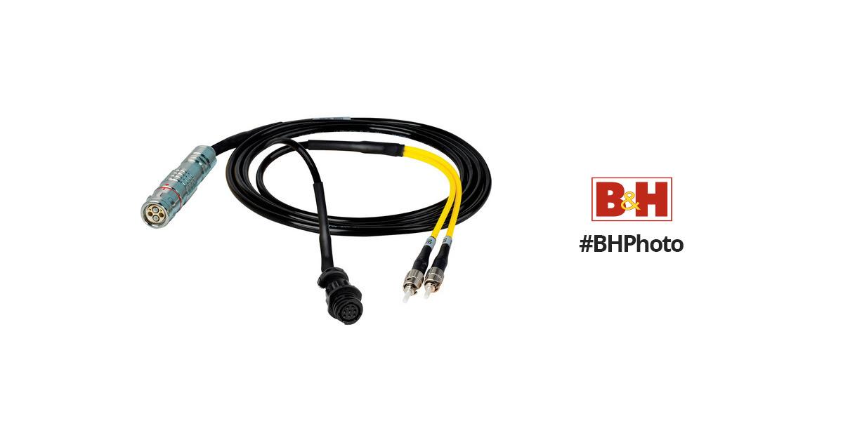 Camplex 6' Lemo FUW to Duplex ST Fiber & HF-FUWST6-BO-006