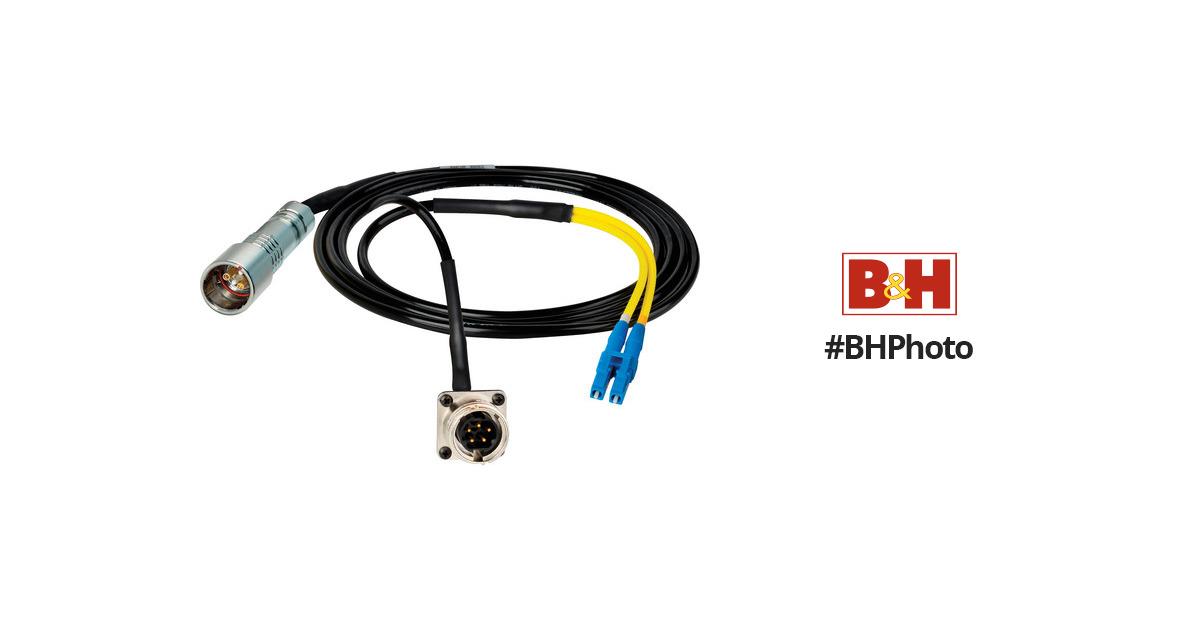 Camplex 50' Lemo PUW to Duplex LC Fiber & HF-PUWLC5-BO-050